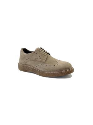 Hakiki Deri Vizon Erkek Günlük Ayakkabı